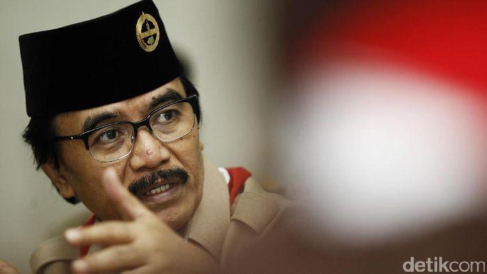 Adhyaksa Dault Ketua Kwarnas Pramuka/Foto: Muhammad Ridho