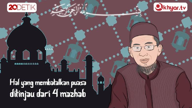 #TanyaUstazAdi Yang Membatalkan Puasa Ditinjau dari 4 Mazhab