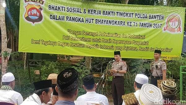 Kunjungi Pesantren Tebuireng, Kapolda Rangkul Ulama Banten Jaga NKRI
