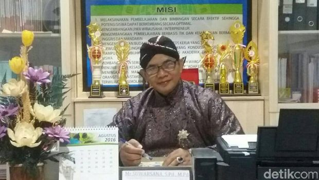 Kepala Sekolah Dasar Mutiara Persada, Bantul, Suwarsana