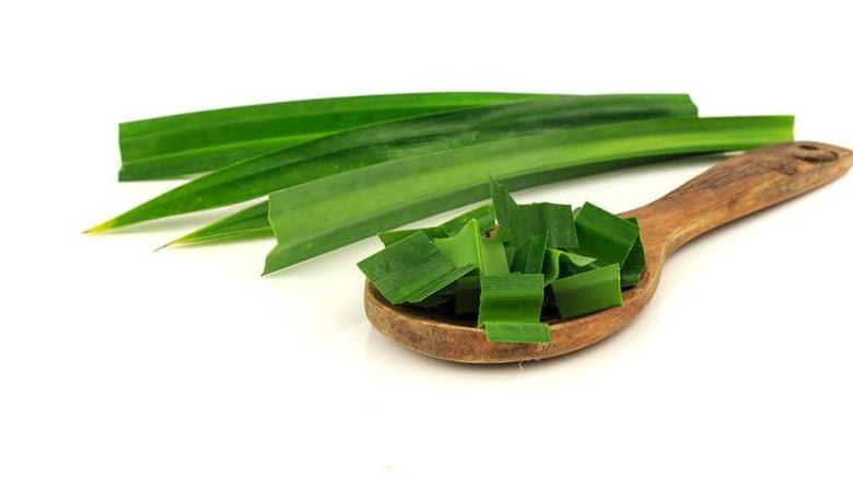Iris kecil daun pandan simpan di bagian dasbor atau bagian mobil lainnya Foto: iStock
