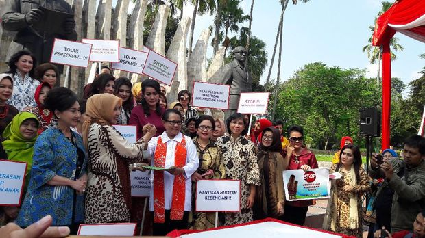 Acara Deklarasi Penolakan Kekerasan, Eksploitasi, Persekusi Terhadap Perempuan dan Anak
