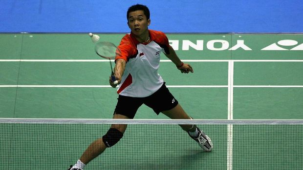 Taufik Hidayat mengoleksi enam gelar juara Indonesia Open.