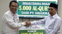 APP Wakafkan 5.000 Mushaf Alquran ke LAZIS NU