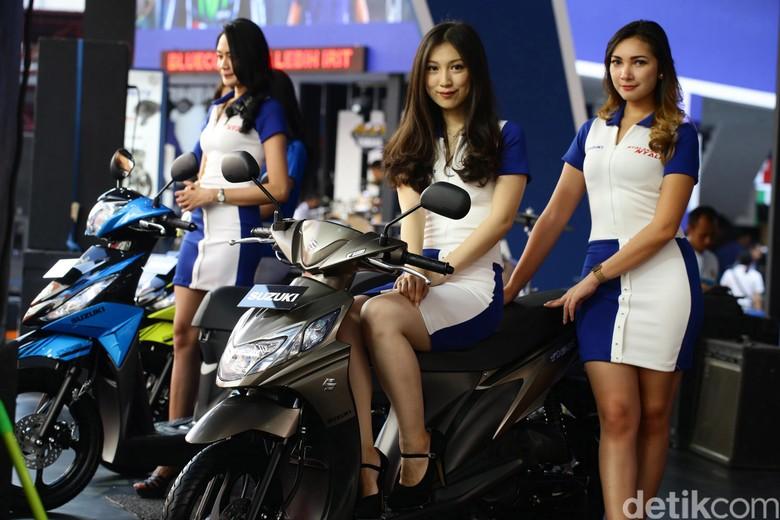 Suzuki Nex dan Address dipamerkan di Jakarta Fair (Foto: Hasan Alhabshy)