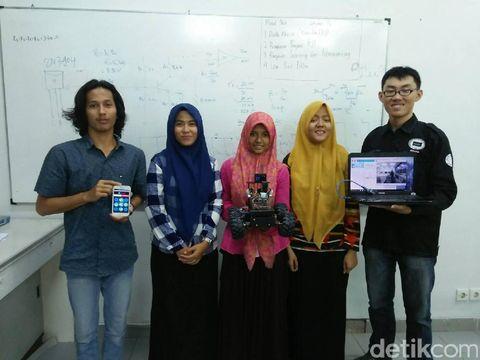 Kenalkan RoPo, Robot Pemburu Korban Gempa Bikinan Mahasiswa Aceh