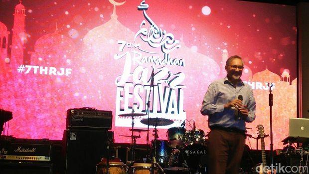 Moazzam Malik di Ramadan Jazz Festival 2017.