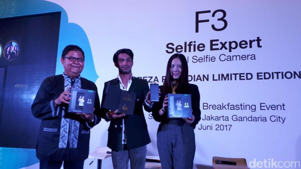 600 Unit Ponsel F3 Edisi Reza Rahadian Siap Dipesan