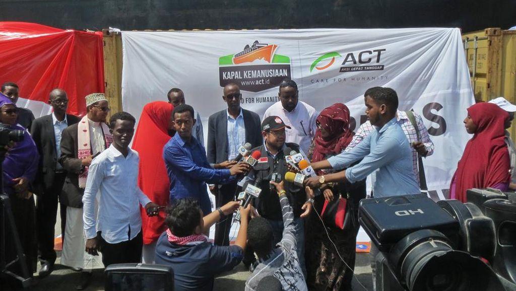 Seribu Ton Beras dari RI Untuk Afrika Berlabuh di Mogadishu
