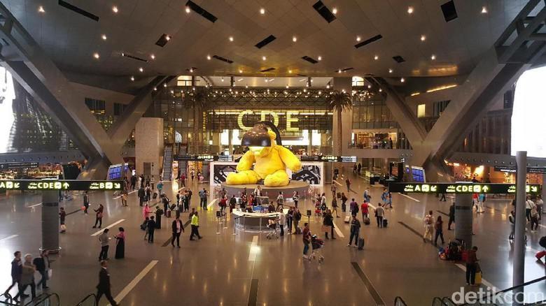 Foto: Ilustrasi Bandara Internasional Hamad (Fitraya/detikTravel)