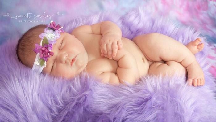 Carleigh Corbitt, bayi yang lahir dengan berat lebih dari 6 kg (Foto: People.com)