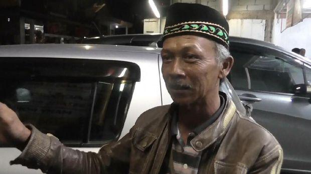 Tokoh masyarakat di Kampung Sukamaju, Itang Sutisna