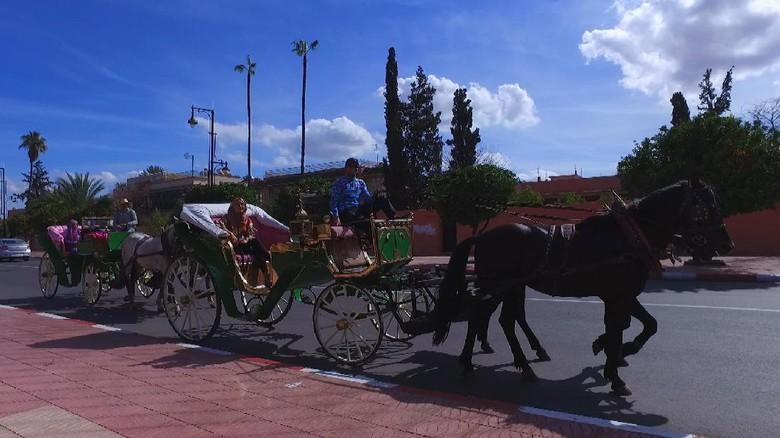 Marrakesh, kota terbesar keempat di Maroko (Irfan Padli/TRANS7)