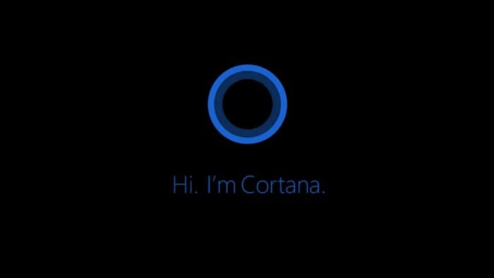 Cortana. Foto: internet