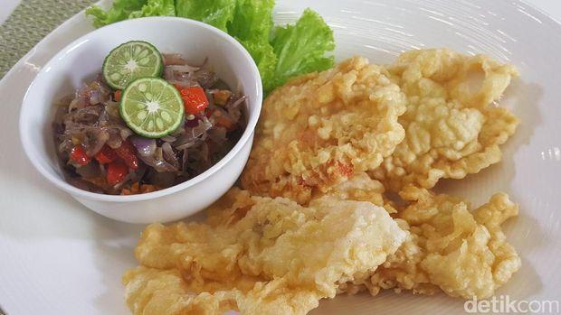 Ikan Dori Goreng Sambal Matah