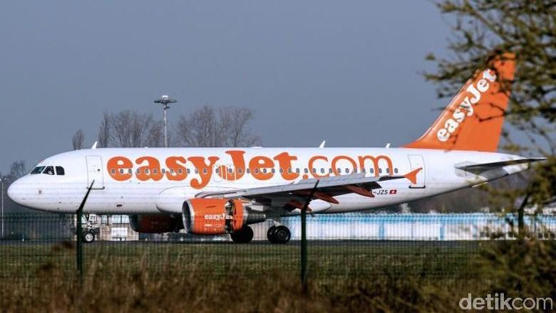 Pesawat Easyjet (AFP)