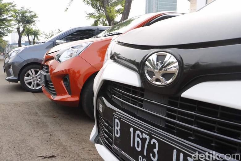 Toyota Calya wajah lama. Foto: Dadan Kuswaraharja