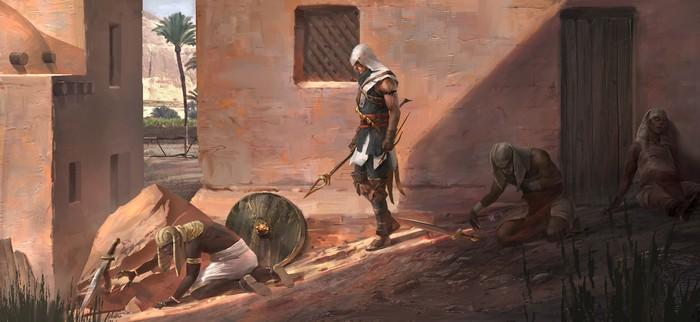 Assassins Creed Origins. Foto: istimewa