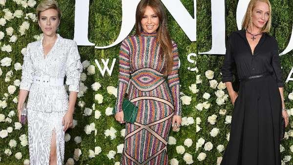 Pesona Para Seleb Cantik di Tony Awards 2017