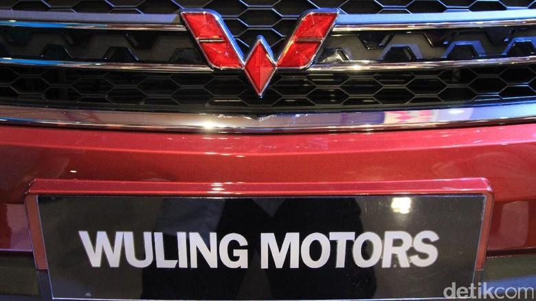 Logo Wuling (Foto: M. Luthfi Andika)