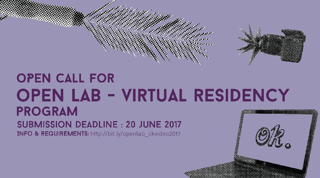 Festival OK.Video 2017 Buka Program Residensi Virtual bagi Seniman