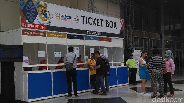 Indonesia Open Sudah Mulai tapi Panpel Masih Beres-Beres