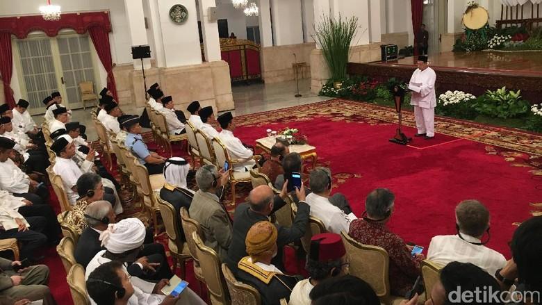 Jokowi Gelar Peringatan Nuzululquran 1438 H di Istana