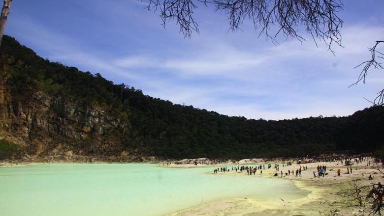 Ilustrasi Kawah Putih di Ciwidey (Aldi Sanjaya Putra/dTraveler)