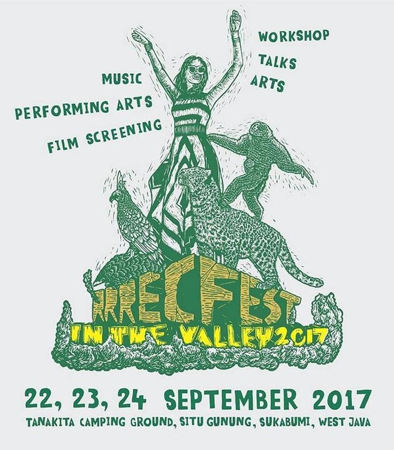 September, RRREC Fest in The Valley 2017 Akan Digelar