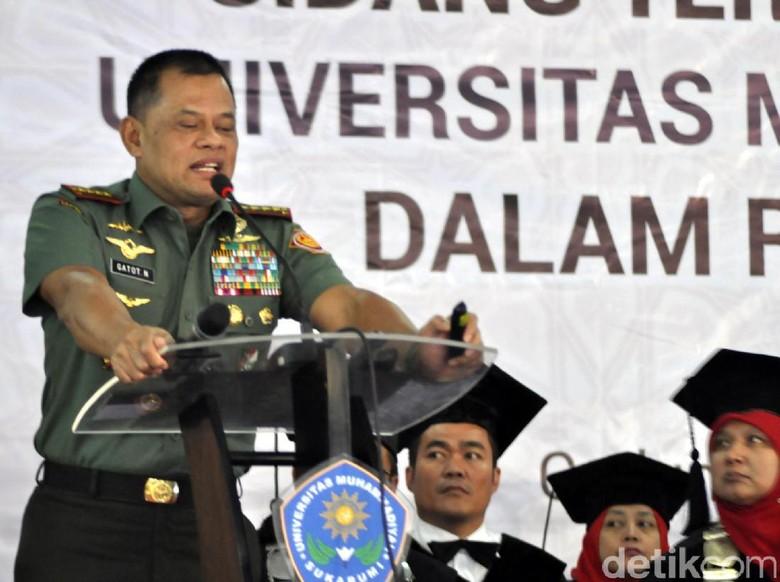 Panglima TNI: Terima Kasih Presiden Arahkan Kami agar Lebih Baik