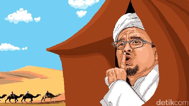 Bukan Setya Novanto, Tapi Habib Rizieq yang Paling Dicari