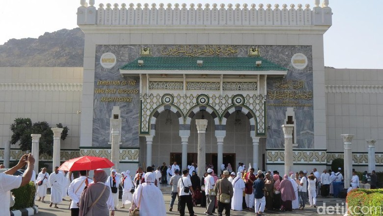 Exhibition of The Two Holy Mosques mengungkapkan isi Kabah (Fitraya/detikTravel)