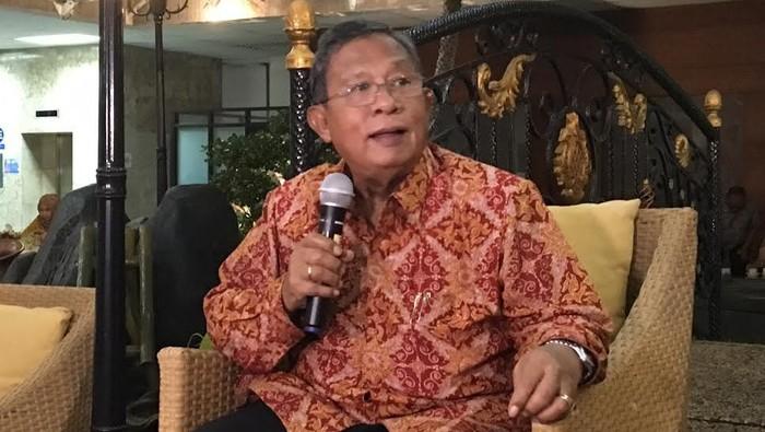 Menko Perekonomian Darmin Nasution (Wahyu Daniel/detikcom)