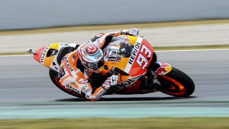 Ungguli Vinales, Marquez Tercepat di Tes MotoGP Catalunya