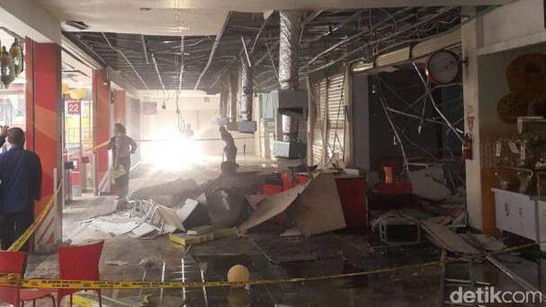 Ledakan Gas 50 Kg di Rumah Makan di Pondok Gede, 3 Orang Terluka