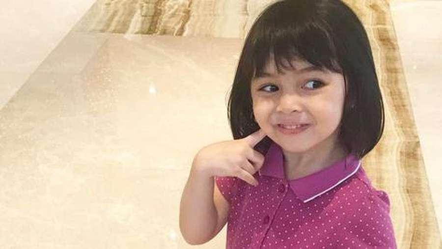 Sienna Si Bayi Tomat, Putri Marshanda yang Menggemaskan