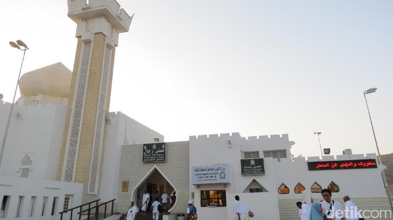 Masjid Jaronah, salah satu tempat miqat di Makkah (Fitraya/detikTravel)