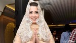 Ikut Tahlilan Jupe, Dewi Persik Berkaca-kaca