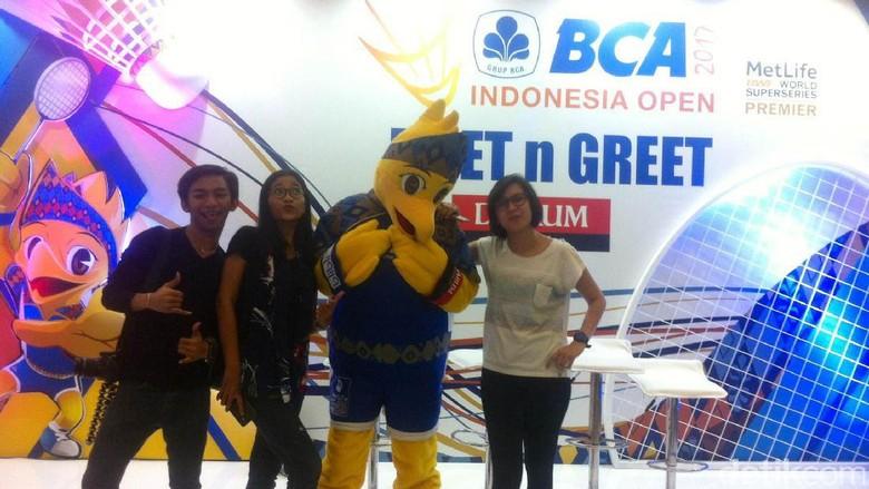 Kemeriahan Hari Kedua Indonesia Open
