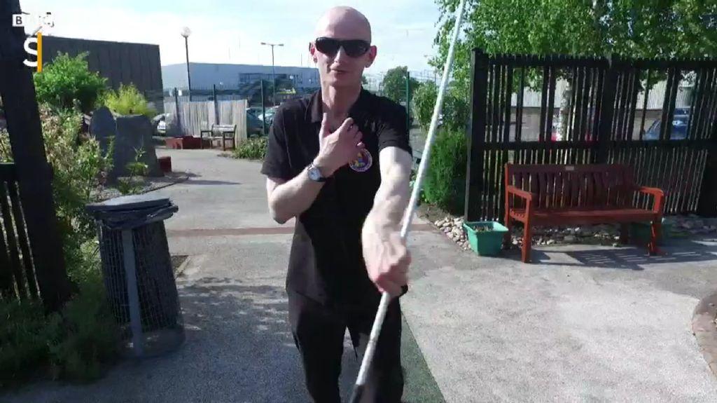 Kenalkan Ini David, Pelatih Bela Diri Khusus Para Tunanetra