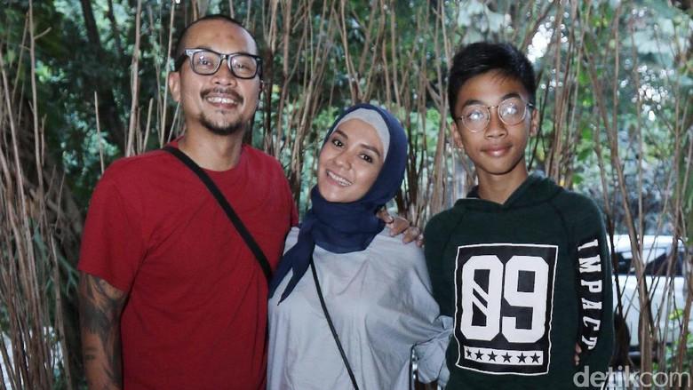 Dukungan Suami Bikin Enno Lerian Makin Semangat di Kehamilan ke-4 (Foto: Ismail/detikHOT)