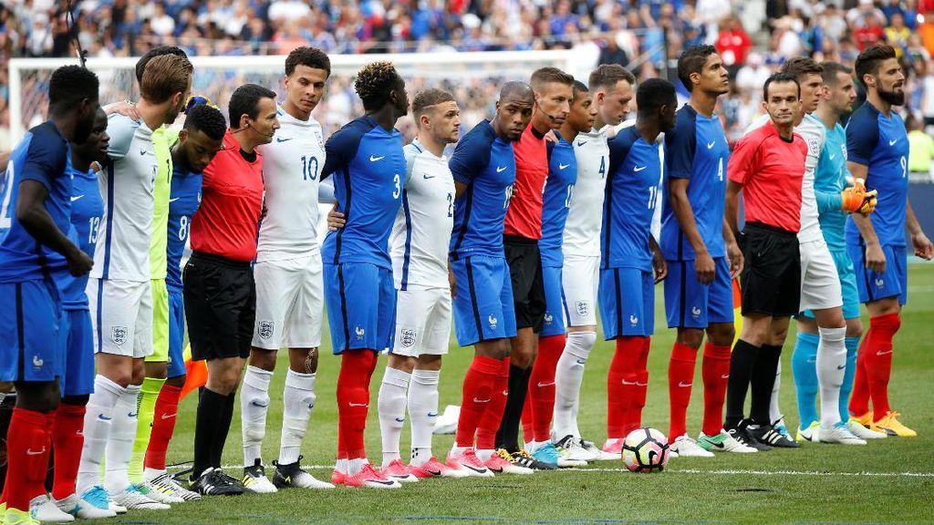 Kumandang Dont Look Back in Anger Jelang Prancis vs Inggris