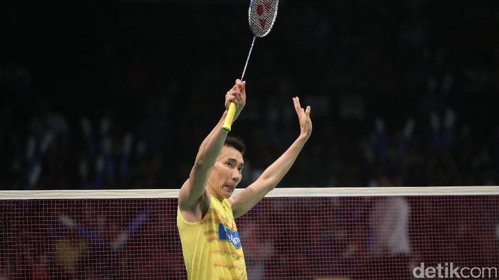 Eks pemain tungga putra Malaysia, Lee Chong Wei. (Foto: Grandyos Zafna/detikSport)