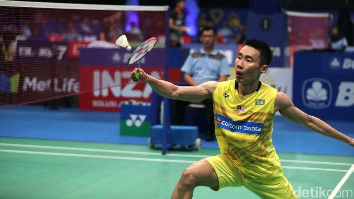 Lee Chong Wei tiga kali gagal di final Olimpiade. (Foto: Grandyos Zafna)