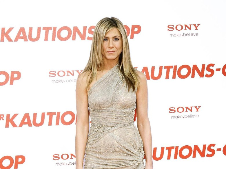 Jennifer Aniston disebut terlalu gemuk. Foto: Dok. Getty Images