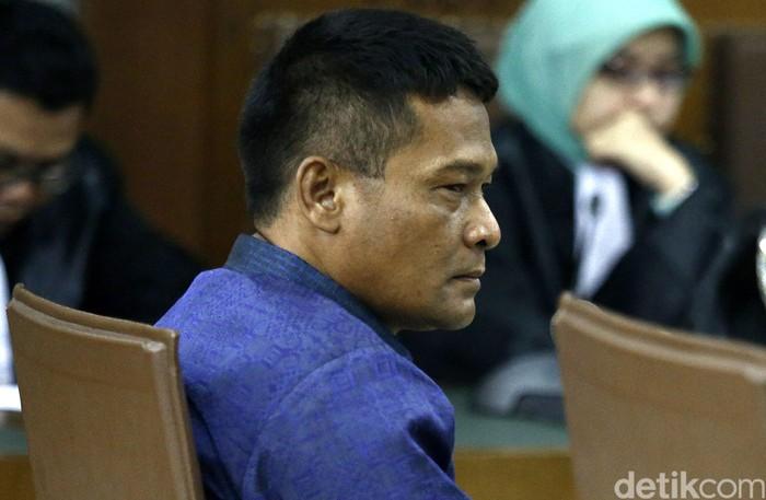Berthalia Ruruk Kariman dikonfrontir dengan Rohadi dalam sidang kasus suap majelis hakim dengan terdakwa Saipul Jamil kembali di Pengadilan Tipikor, Rabu (14/7/2017).