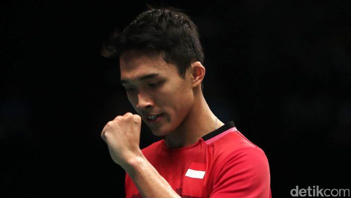 Jonatan Christie akan menantang Chen Long di babak kedua Indonesia Open 2017 (Foto: Grandyos Zafna)