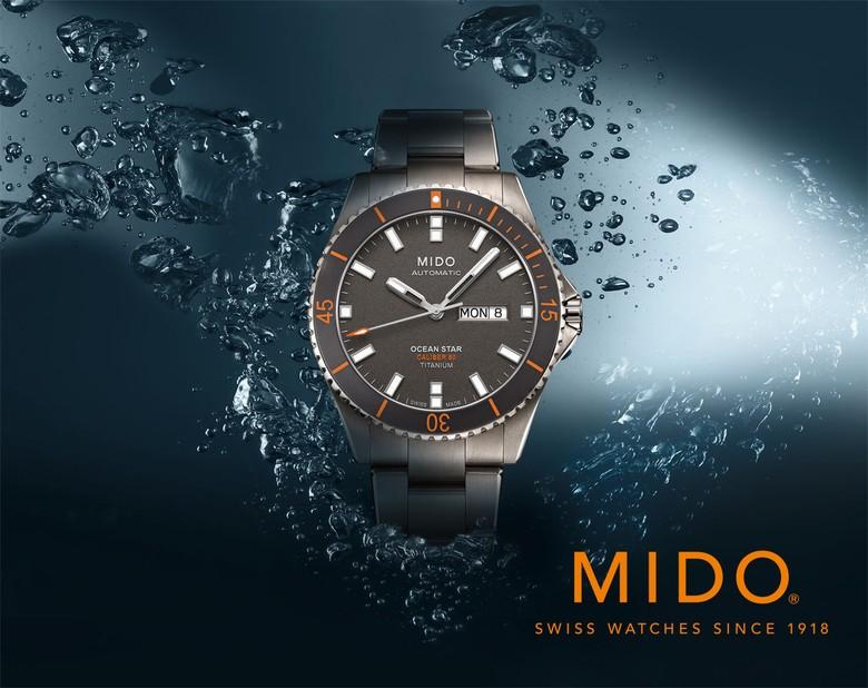 Mido Ocean Star Titanium Caliber 80 Lengkapi Gaya Lebaran Anda