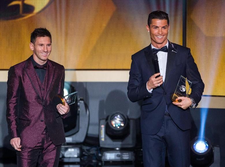 Tersingkir dari Piala Dunia, Ronaldo Duet dengan Messi di Saat Terakhir ST12