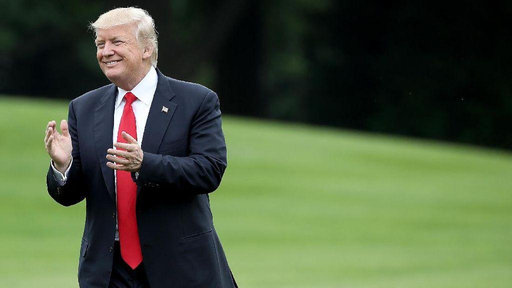 Trump Puji Langkah Kim Jong Un Tunda Serangan Rudal ke Guam